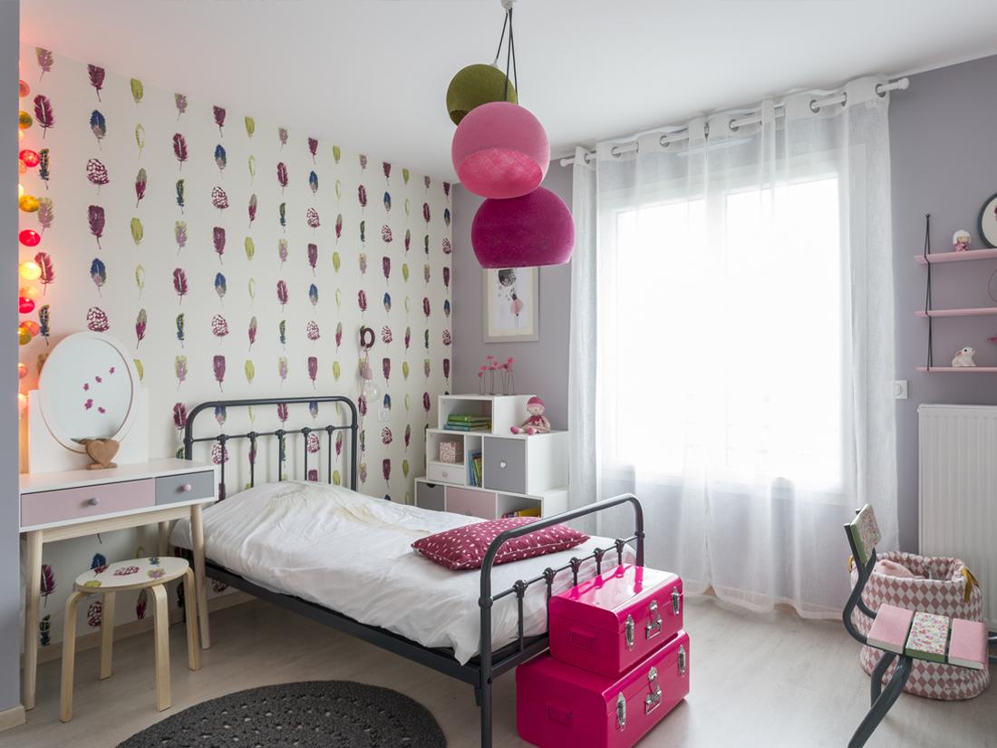 ALU chambre rose romantique