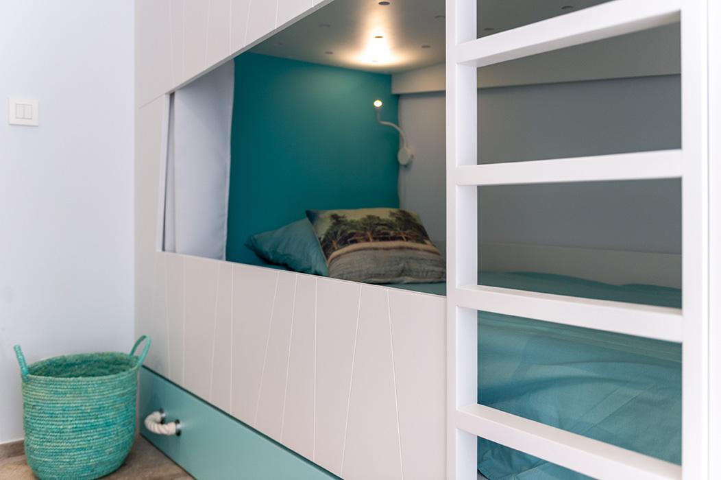 lits superposés bois