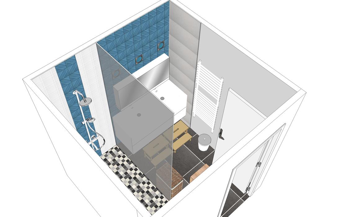 salle d'eau pour enfants maison