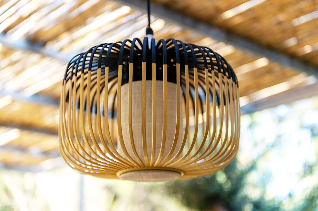 Suspension-outdoor-bambou-noir