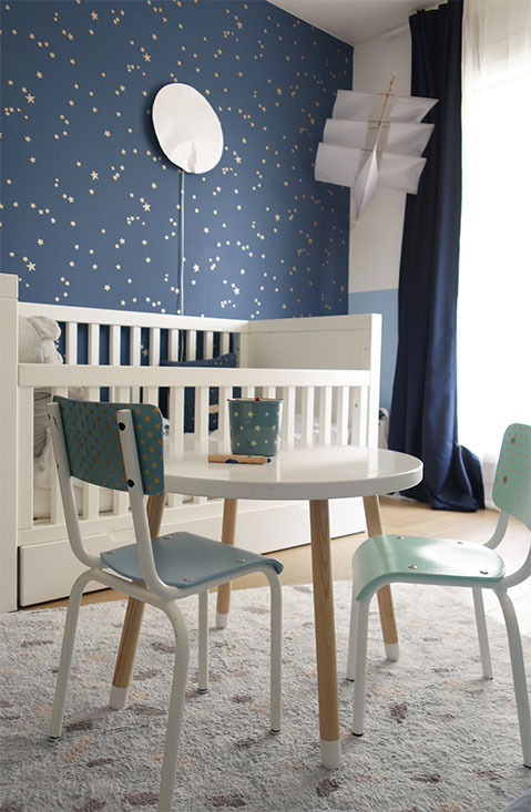 Real Chambre Enfant Lit Tapis Table Chaise Reloookee