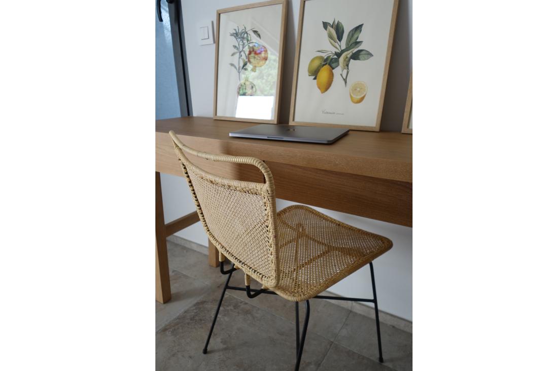 bureau-chaise-chambre-bois