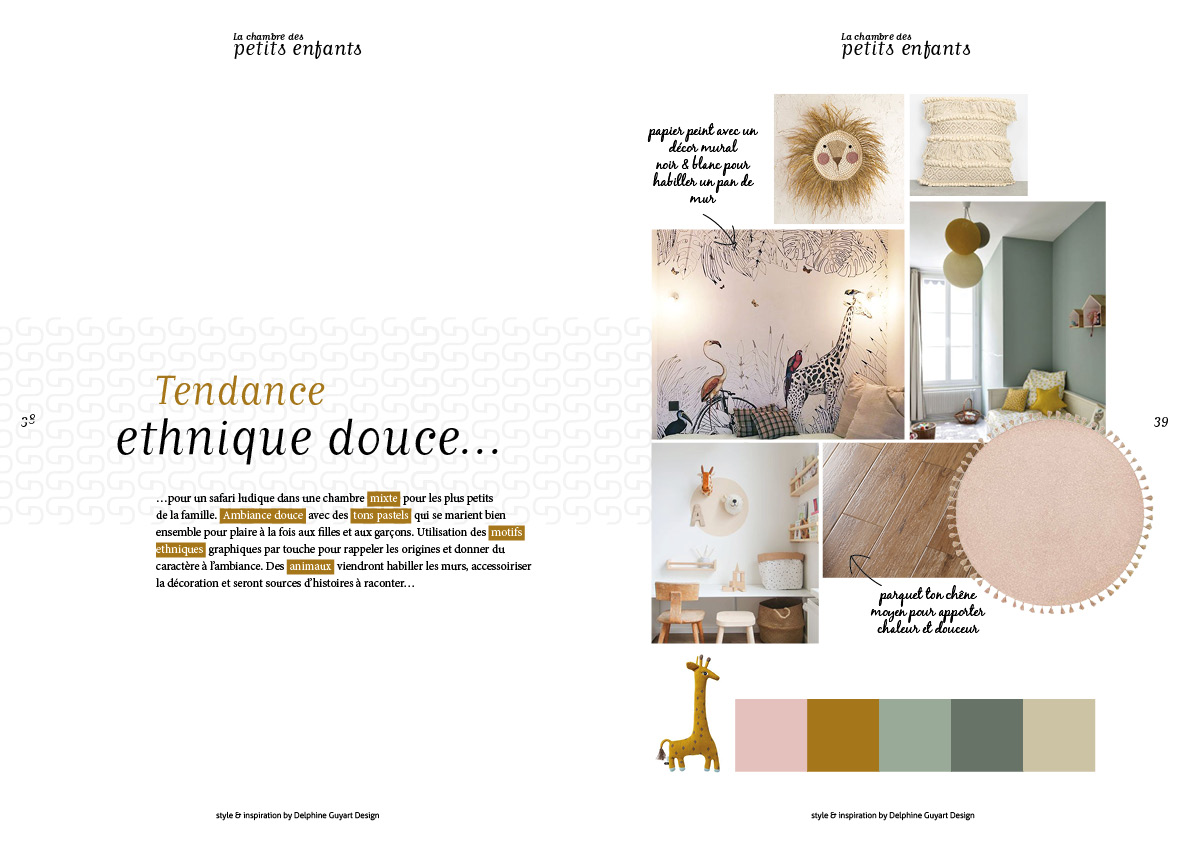 book tendance chambre enfant petit © delphine guyart design ...